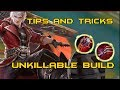 Mobile Legends - Tips and Tricks How to play Alucard | Unkillable BUILD