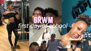 GRWM first day of school 2018 + VLOG