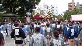 【2015年 亀戸天神 例大祭】氏子神輿宮入り