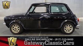 1970 Morris Mini 1275GT #701-DFW Gateway Classic Cars of Dallas
