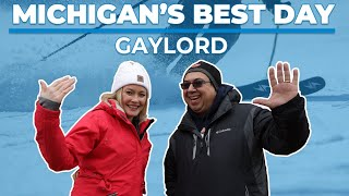 Michigan's Best Day goes on a winter adventure in Gaylord