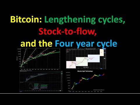 Bitcoin: Lengthening Cycles, Stock-to-Flow, and the Four Year Cycle