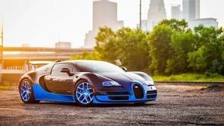 тесты суперкаров №4 Bugatti Veyron