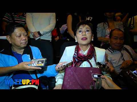 Vilma at the Bata Bata Screening UP Theater After Show Interview Part 1
