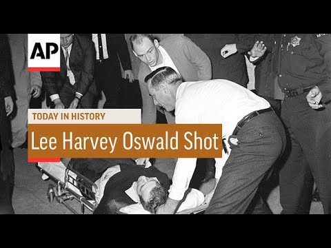 Lee Harvey Oswald Shot - 1963 | Today In History | 24 Nov 17