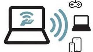 видео Как раздать WiFi с ноутбука на Андроид? Сделать это очень просто