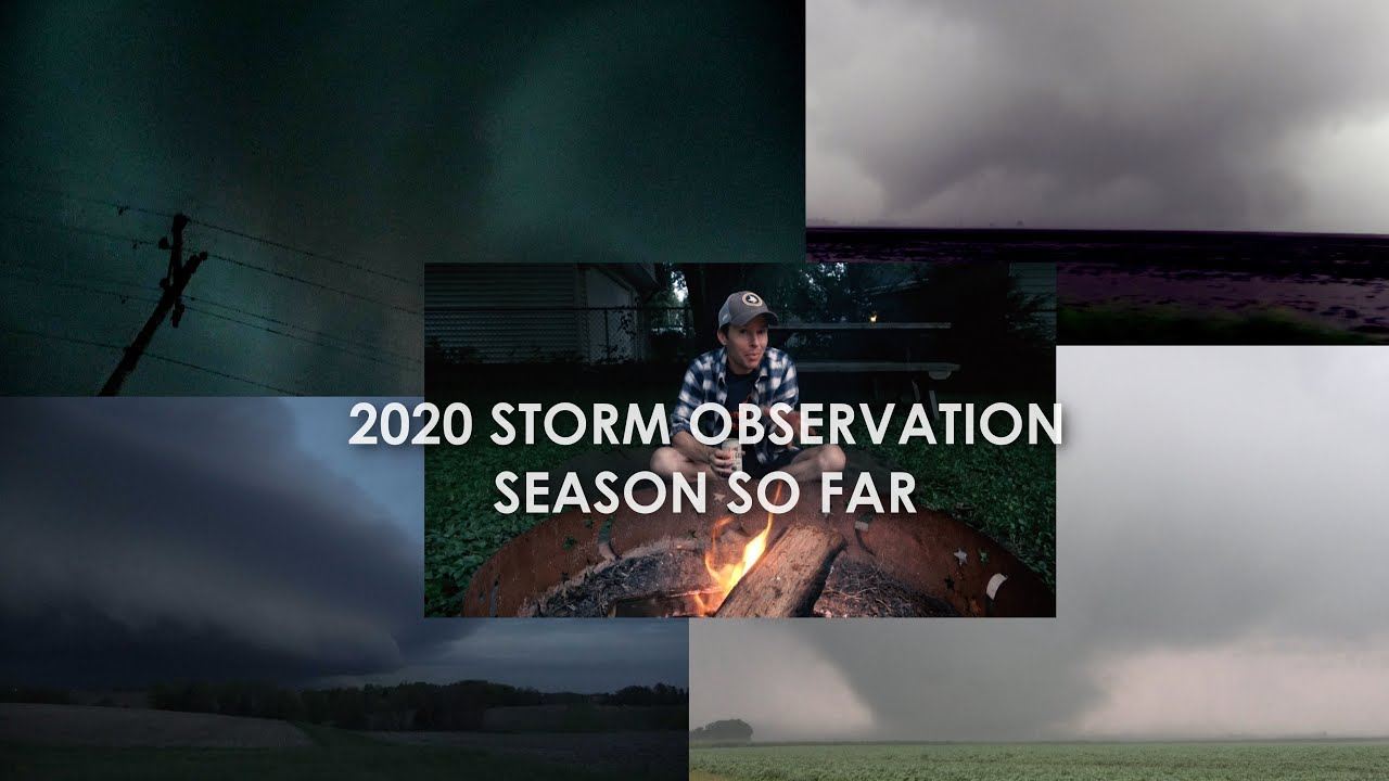 THE 2020 STORM OBSERVATION SEASON SO FAR | Skydrama VLOG & Fireside Chat