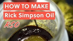 How to Make Rick Simpson Oil (RSO Recipe) | BAO After Work