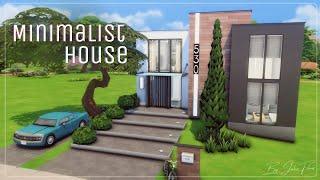 Минималистичный дом🏠│Строительство│Minimalist House│SpeedBuild│NO CC [The Sims 4]