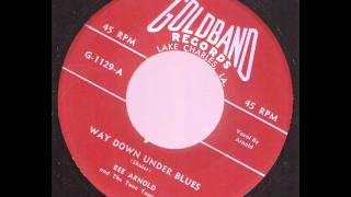 Bee Arnold and The Tune Toppers  Way Down Under Blues  GOLDBAND 1129