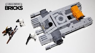 Lego Star Wars 75152 Imperial Assault Hovertank Lego Speed Build