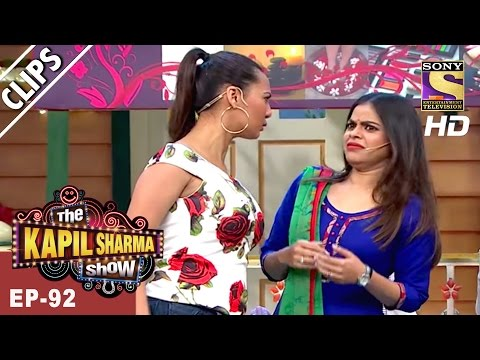 Sarla and Lotttery's Jhatpat Beauty Parlour -The Kapil Sharma Show - 25th Mar, 2017