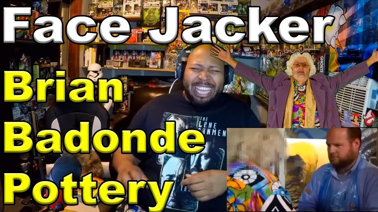 Face Jacker Brian Badonde Pottery - Full Reaction