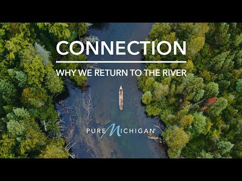 Connection | Fly Fishing The Au Sable River | Pure Michigan