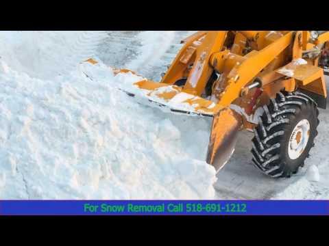 Saratoga Springs NY Snow Removal Services
