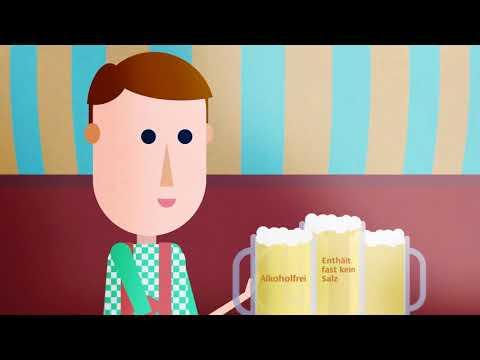 Kann man sich mit zu viel Wasser vergiften? Kurzvideo  erklärt Störungen des Salz- und Wasserhaushaltes im Körper