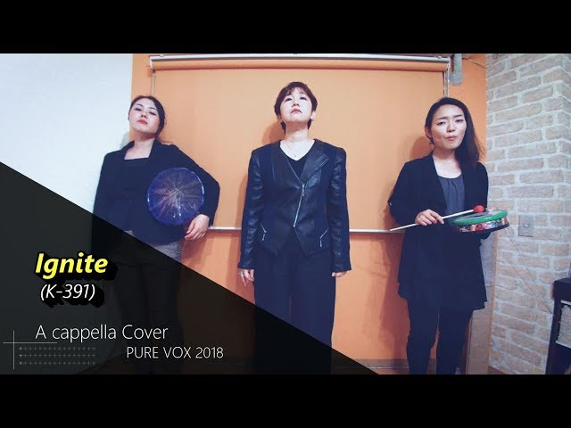 【洋楽カバー アカペラ】K-391-Ignite/A cappella Cover