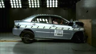 Right Overall - MTA NSW Corolla Crash-Test Footage