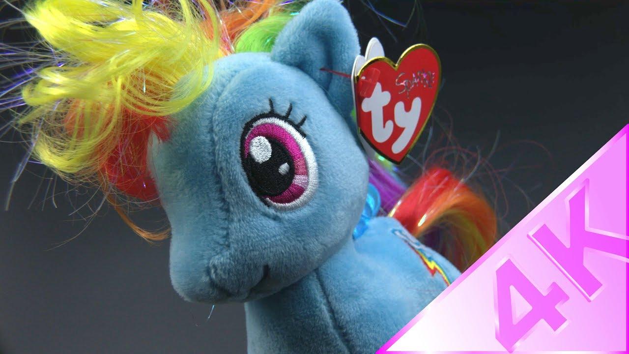 Ty Beanie Babies - My Little Pony Rainbow Dash 4k - YouTube cdfe95864f53