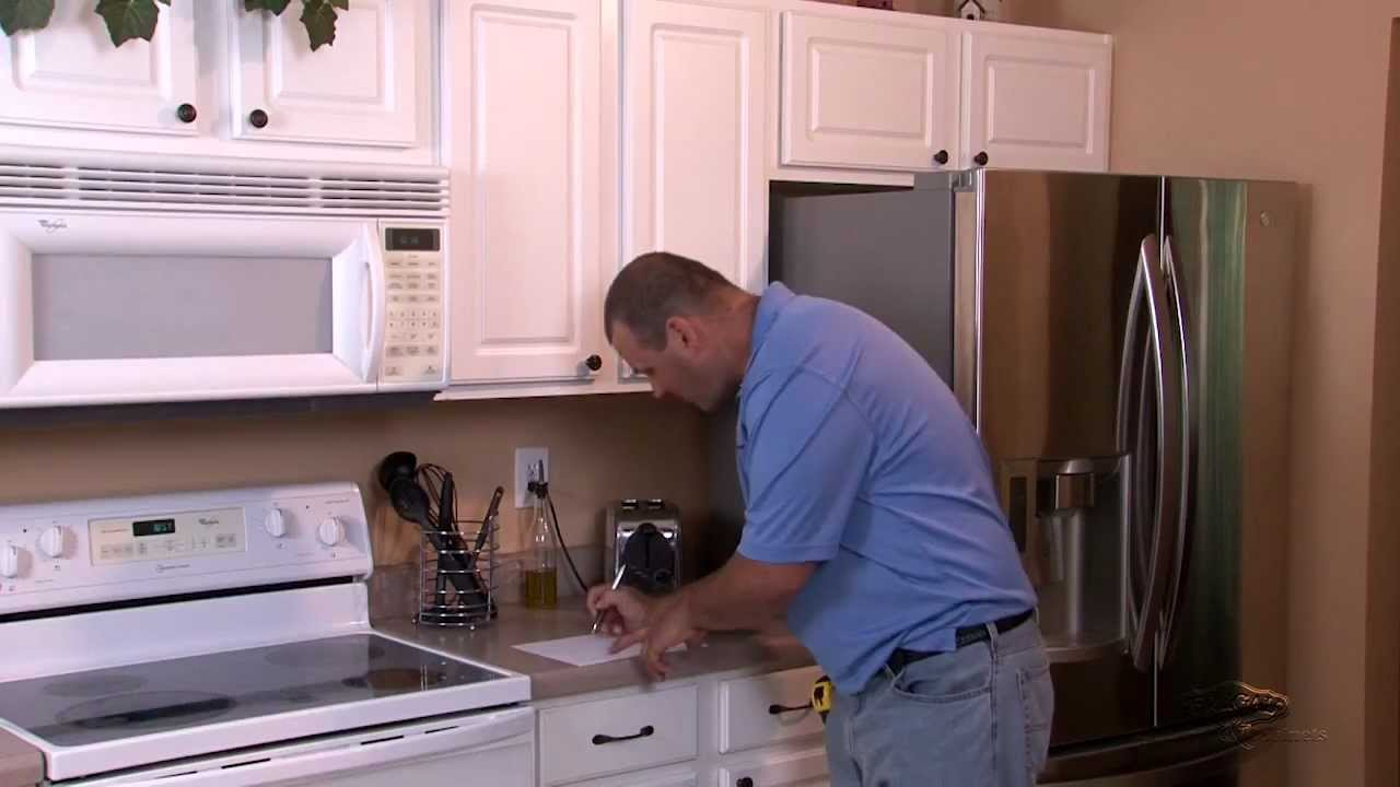How To Measure Your Kitchen Cabinets Youtube