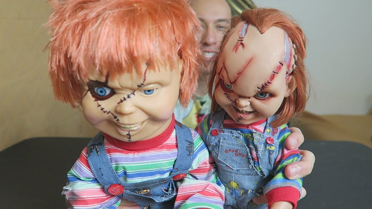 unboxing chucky animated talking doll from bride of chucky youtube