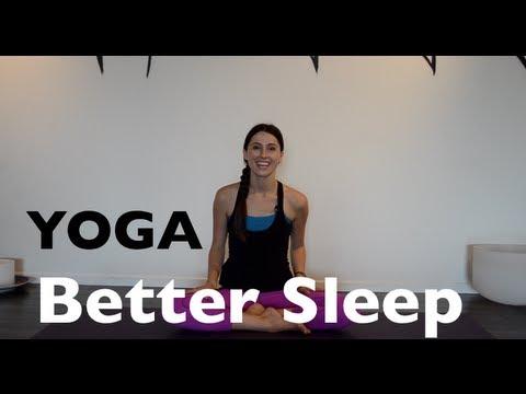 yoga poses for better sleep  youtube