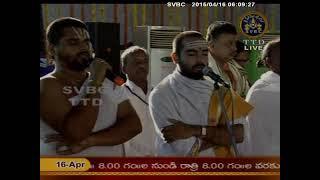 SVBC TTD-Srivenkateswara Vaibhavotsavams Suprabhatam 16-04-15