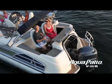 2014 Aqua Patio Pontoons Series Video