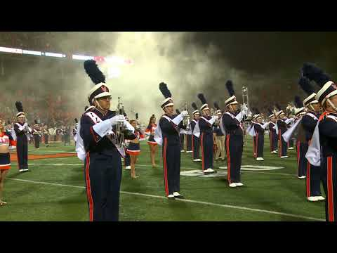 Marching Illini Halftime Performance: Pirates of the Caribbe