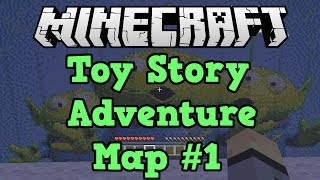 Minecraft Xbox 360 Toy Story Adventure Map #1 (with boltz and eskimo)