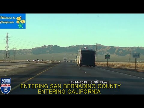 Las Vegas NV to San Diego CA HD 2015