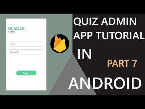 quizzer-admin-app-in-android-studio(part-7)|-hindi-tutorial-2019