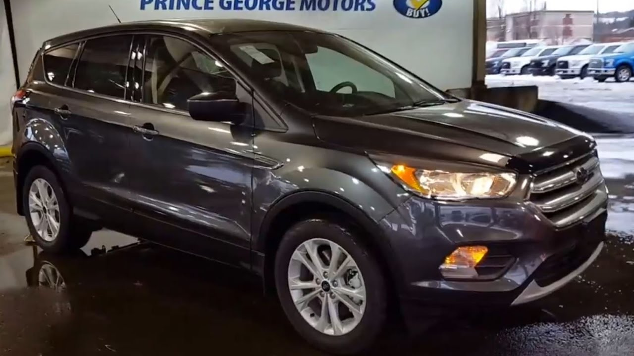 grey ford escape wd se review prince george motors youtube