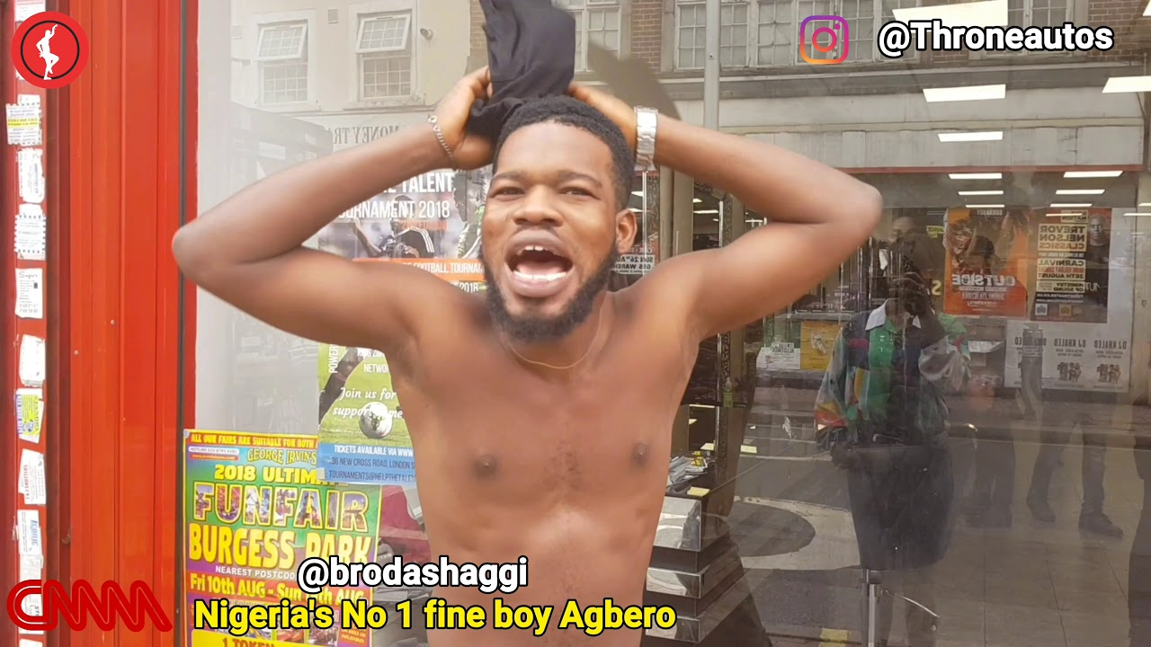 Broda shaggi on the street of London