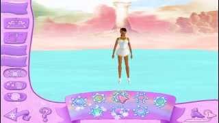 Игра Барби Королева Льда. Катания в небе