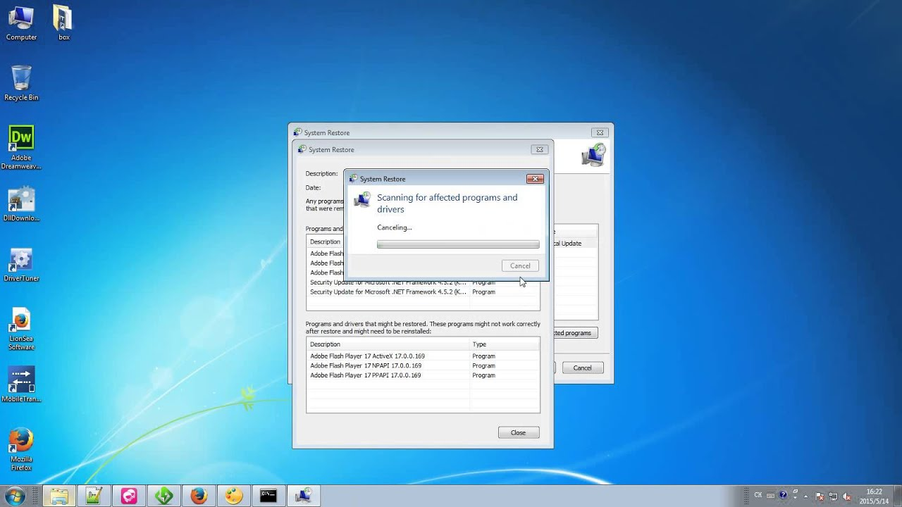 How to Resolve 0x80070005 windows 7 system restore Problems