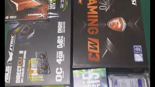 i5 6600 H170 GAMING M3 GTX 980 OYUNCU BILGISAYARI TOPLAMA