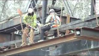 Videos of Historic Iron Truss Relocation