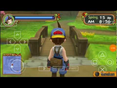 harvest-moon-holv-bahasa-indonesia---gameplay#2-|-ppsspp|-android