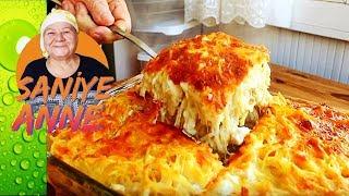 Fırında Kremalı Peynirli Makarna