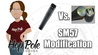 Modifying an SM57 - Removing the transformer (TapeOp Mod) and changing the impedance