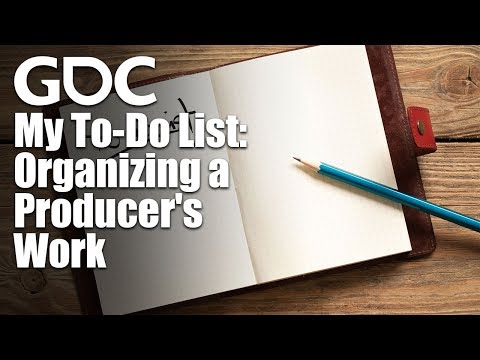My To-Do List: Organizing a Producer's Work