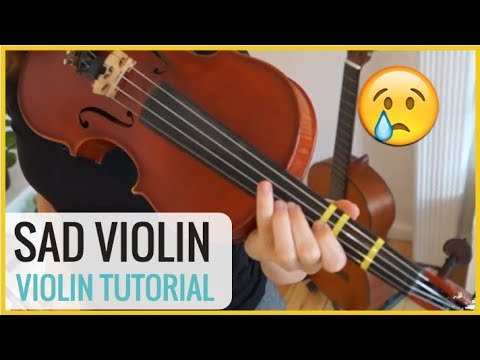 How to play Sad Romance ( Sad Violin) | Easy Violin Tutorial with Sheet  Music
