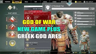God Of War PS4 - New Game Plus Greek God Ares Armor(Chest Armor Wrist Armor And Waist Armor)  Suit