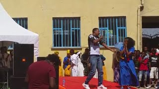Lij michael faf rapping for girl @ fgh school with dj lee nov 29 culture day