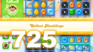 Candy Crush Jelly Saga Level 725 (3 star, No boosters)