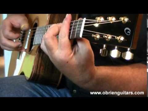 Fingerstyle guitarist, Jim Deeming, plays Windy and Warm