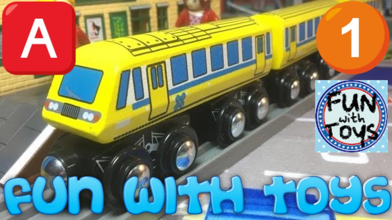 Toys R Us Trains : Toys quot r us imaginarium wooden toy train in motion