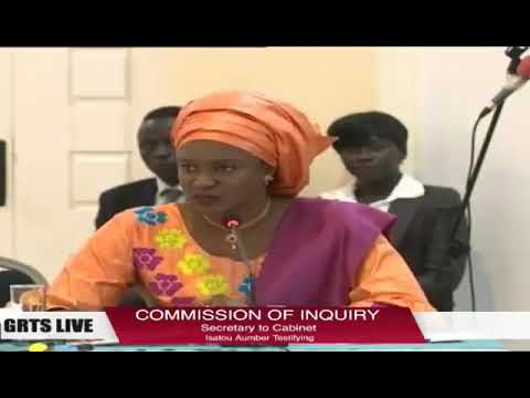 Gambia: Former SG Isatou Auber Testifies At The Commission Of Enquiry