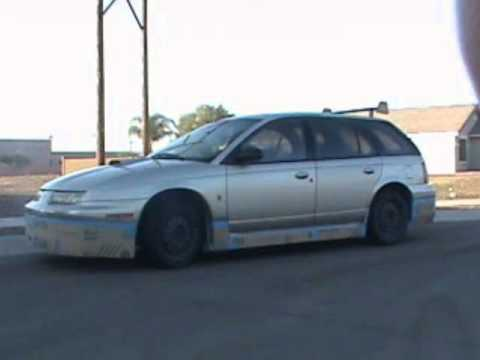 Badly Modified 1996 Saturn Sw2 Youtube